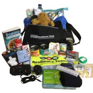 CSW Resilience Team Be Prepared Grab Bag