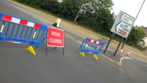 CSW Resilience Team Road Closed